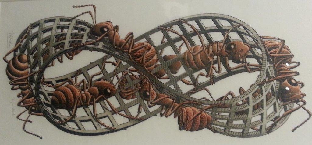 lemniscaat Escher klein